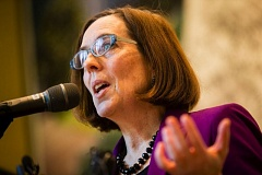 TRIBUNE FILE PHOTO - Gov. Kate Brown has agreed to five debates and left the door open for more.