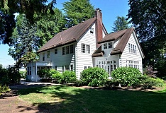 TIDINGS FILE PHOTO - The historic McLean House was built in 1927 for a West Linn physician and his family on four acres overlooking the Willamette River.