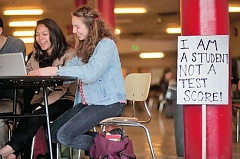 TIMES FILE PHOTO - Students in the Tigard-Tualatin School District outperformed most of the state on the Smarter Balanced Assessment tests, but the tests also revealed some performance gaps within the district, too.