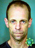 MCDC BOOKING PHOTO - New DNA evidence indicates that this man, 45-year-old Monte Robin Kaija Jr., is the person who made and detonated a bomb at the Foster Road Fred Meyer Store. He faces trial on several charges.