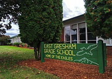 OUTLOOK PHOTO - East Gresham Elementary School is one of two grade schools that would be replaced if the $291.2 million Gresham-Barlow School District bond passes.