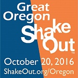 Oregonians are encouraged to 'drop, cover and hold on' during the Great Oregon ShakeOut on Oct. 22.