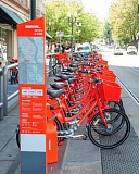 TRIBUNE FILE PHOTO - Portland's Bureau of Transportation is working with the Community Cycling Center, the Better Bike Share Partnership and Motivate to create a program for low-income residents who want to use the Biketown bike rentals.