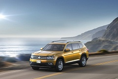 COURTESY VOLKSWAGEN - Although Volkswagn has formally unveiled its all new Atlas mid-size, seven-passengr SUV, many details have yet to be released, like prices and mileages.