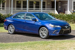 TOYOTA MOTOR SALES USA - The 2016 Toyota Camry Hybrid offers all the features of the company's popular mid-size gas-powered sedan, plus the hgher mileage of a well designed hybrid.
