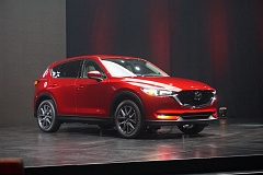 PORTLAND TRIBUNE: JEFF ZURSCHMEIDE - Mazda unveiled its redesigned 2017 CX-5 at the Los Angeles International Auto.