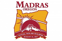 DESIGN BY TOM CULBERTSON - The city of Madras, which is directly in the path of the Aug. 21, 2017, total solar eclipse, has a new logo for the event.