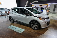 PORTLND TRIBUNE: JEFF ZURSCHMEIDE - Chevrolet is offering the Bolt at an adjusted price of $29,995 after the $7,500 federal tax rebate for electric vehicles.  The Bolt offers an EPA-estimated range of 238 miles on a full charge. The Bolt is expected to be on sale in dealer showrooms in December.