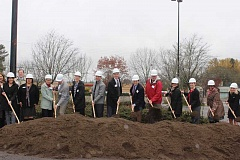 THE TIMES: MANDY FEDER-SAWYER - A groundbreaking ceremony took place Nov. 14 for the new Virginia Garcia Beaverton Wellness Center.
