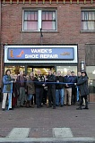 CONTRIBUTED PHOTO - Vaneks Shoe Repair celebrated a fresh new look of the Broadway business. Four generations of the Vanek family have mastered the art of shoe repair.