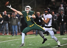 TIDINGS PHOTO: VERN UYETAKE - West Linn's Jake Meisen and the Lions will try to beat Clackamas today and win a second straight berth in the Class 6A state championship game. West Linn and Clackamas meet at 4 p.m. today at Providence Park.