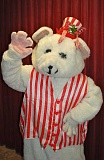 SUBMITTED PHOTO: LAKEWOOD THEATRE COMPANY - For the holidays the Peppermint Bear visits Lakewood for the 25th anniversary show titled The Peppermint Bear Show 2016: The Elves That Forgot Christmas, Dec. 3, 10, 11, 17, 18 and 20, 2016 at Lakewood Theatre Company, Lakewood Center for the Arts, 368 S. State St. in Lake Oswego.
