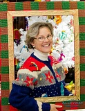 NEWS-TIMES FILE PHOTO - Previous celebrants at the Ugly Sweater parties hosted by A Framers Touch have worn their sweaters proudly.