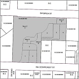 COURTESY OF WASHINGTON COUNTY - An area map shows the area, shaded in gray, that Venture Properties Inc. is seeking to develop with six residential lots in Metzger.