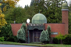 PMG FILE PHOTO - Southwest Portland's Rizwan Mosque is one of the most visible mosques in the city.