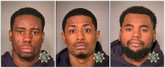 MCDC BOOKING PHOTOS - Joshua Nathan Nice, Winston Oscar Mcleod, and Seth Laban Williams were all booked for burglarizing a Powell Boulevard marijuana dispensary early on Thanksgiving Day.