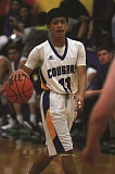 PHIL HAWKINS - Gervais sophomore Elvis Vallejo led the Cougars with 21 points in the team's season-opening 59-36 victory over the visiting Gaston Greyhounds on Nov. 30.