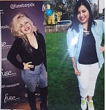COURTESY PHOTOS: CARRIE GREENBERG - Forest Grove High School graduates and close friends Anali Aguilar Gaona (left) and Marilyn Manriquez Gutierrez died in car accident over the weekend near Seaside.