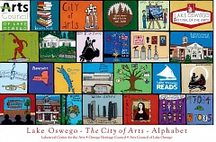 PHOTO COURTESY OF LAKEWOOD CENTER FOR THE ARTS - Lake Oswegos The Alphabet Project showcases the diversity of the arts in Lake Oswego.