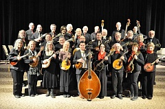 COURTESY PHOTO - The Oregon Mandolin Orchestra, conducted by Forest Grove resident Brian Oberlin, plays the Walters Cultural Arts Center in Hillsboro Dec. 16.