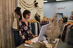REVIEW PHOTO: KELSEY O'HALLORAN - Staci Barnes owns Mapel Boutique in West Linn.