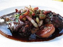 STAFF PHOTO: BARB RANDALL - Coq au vin is a dish Barb Randall doesnt prepare often; its perfect to prepare when you are snowbound.