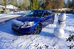 PORTLAND TRIBUNE: JEFF ZURSCHMEIDE - The 2017 Subaru Legacy is a good looking affordable family car that comes standard with the company's Symmetrical All-Wheel-Drive system that will get you through the snow with no problems.