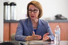PAMPLIN MEDIA GROUP - Oregon Attorney General Ellen Rosenblum has proposed legislation requiring that police collect data on the race of persons which with they have enforcement contact.