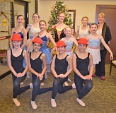 SUBMITTED PHOTO - Dancers from the Academy of Ballet and Dance Arts in Lake Oswego recently performed for residents at The Springs at Carmen Oaks. The dance studio has made it a tradition to entertain and visit with seniors during the holidays.  This year, the dancers performed classical solos from the ballets Graduation Ball and Paquita, as well as traditional Ukranian character dances and contemporary dance pieces like The Red Hat Dance and High Society. Pictured are (from left): back row, Natalie Lloyd, Anna Therkelsen, Maddie Francis and director and instructor Wendy Goldthwaite; middle row: Katie Gunter, Lauren Vance, Chloe Crawford and Sonnet Lawson; and front row, Olivia Turley, Matea Goode, Mimi Goldthwaite and Hana Menasco. The studio is located at 311 B Ave. in downtown Lake Oswego. Learn more online at abdalakeoswego.com.