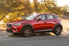 MAZDA NORTH AMERICAN OPERATIONS - Mazda's corporate KODO Soul of Motion exterior styling design gives the 2017 CX-3 a sleek look.