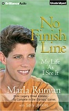 Marla Runyan's life and career as a legally blind, world-class distance runner made for acclaimed book, No Finish Line: My Life As I See It, written with Sally Jenkins.