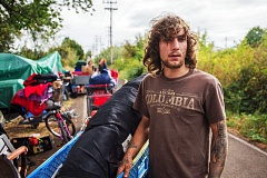FILE PHOTO - Gresham, Portland and Multnomah County officials worked to removed homeless campers from along the Springwater Trail corridor in 2016. But the lasting solutions to homelessness have been hard to come by.