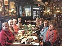 NEWS-TIMES PHOTO: STEPHANIE HAUGEN - A group of women from the Forest Grove High School class of 1960 meet regularly for lunch in western Washington County.