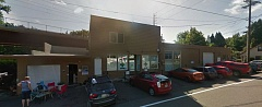 PHOTO COURTESY: GOOGLE MAPS - The Top Hat Express dispensary at 22nd Avenue and River Road in Milwaukie is among the several longtime medical marijuana retailers between downtown Milwaukie and the edge of Gladstone in unincorporated Clackamas County that will continue with an OLCC license to sell to both recreational and medical customers.