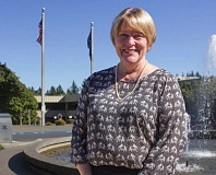 FILE PHOTO - Mt. Hood Community College President Debra Derr