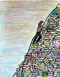 PHOTO COURTESY: CLACKAMAS COUNTY - Katie Sherman of Damascus won last year's Clackamas County libraries contest with this drawing.