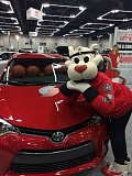 CONTRIBUTED PHOTO - 'Blaze' the Portland Trail Blazers' mascot will appear on Jan. 29 in the Kids Zone at the Auto Show.