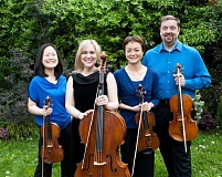 SUBMITTED PHOTO - Portland-based Arnica String Ensemble will perform Jan. 22 as part of the Music in the Woods concert series.