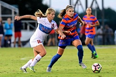 COURTESY: ERIC GLEMSER - Portland Thorns coach Mark Parsons calls Savannah Jordan, chosen by the National Women's Soccer League team, as the best forward and best goal scorer in the draft.