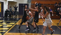TIMES PHOTO: MATT SINGLEDECKER - The Sunset girls basketball team beat Glencoe on Wednesday to close within the Crimson Tide in the Metro League standings.