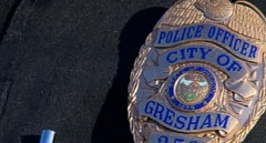 CONTRIBUTED PHOTO: KOIN NEWS 6  - Gresham Police investigate