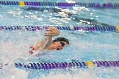 HILLSBORO TRIBUNE PHOTO: CHASE ALLGOOD  - Glencoe sophomore swimmer Elise Pagel takes first in the 50-meter freestyle