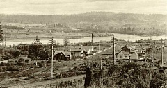 PHOTO COURTESY OLD OREGON/CCHS ORIGINAL - Neighborhoods like Bolton, shown here in 1899, were platted well before West Linn was incorporated as a city.