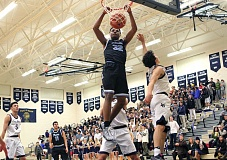 REVIEW PHOTO: MILES VANCE - Lakeridge junior Immanuel Allen and the 11th-ranked Pacers hope to build on their strong start when they visit Canby at 6:45 p.m. tonight.
