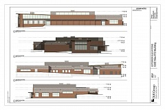 COURTESY PHOTO - This rough drawing shows what the outside of Gaston School Districts newest building will look like.