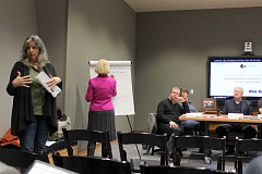 SPOKESMAN PHOTO: CLAIRE GREEN - The Clackamas County Tourism Development Council (TDC) held a listening session Jan. 18 in Wilsonville, inviting neighboring cities to come share their plans for tourism promotion with the TDC.