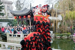 SUBMITTED PHOTO - Lan Su Garden, the metro areas only authentic Chinese garden, will be celebrating the New Year through Feb. 12 in its downtown location.