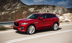 JAGUAR LAND ROVER - The 2017 Jaguar F-Pace is the company's first crossover, and it competes well against other performance compact SUVs on the market.