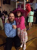 SUBMITTED PHOTO  - Lake Oswego Park Ranger Ben LaBounty and his daughter Emma enjoyed the Daddy Daughter Dance in 2016. Sign up now for this years dance.