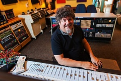 COURTESY: JASON QUIGLEY - Larry Crane, owner of Jackpot Recording Studio, is celebrating 20 years of operating one of Portland's top music businesses. He's also a successful magazine editor, educator and archivist for the late Elliott Smith.